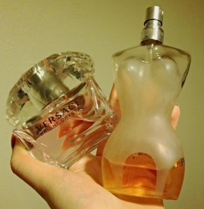 Versace and Jean Paul Gaultier Perfume