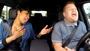Jennifer Hudson and James Corden Carpool