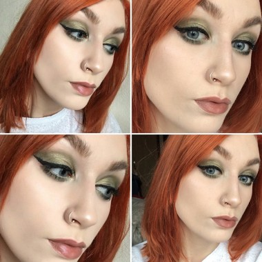 Poison Ivy Makeup Look