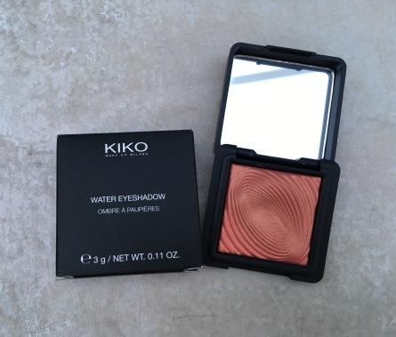 Kiko 218 Grapefruit Pink Water Eyeshadow