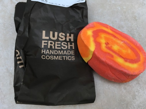 Lush Brightside Bubble Bar