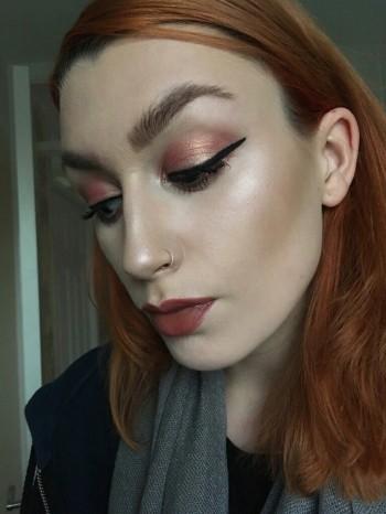 KIKO Grapefruit Pink Water Eyeshadow