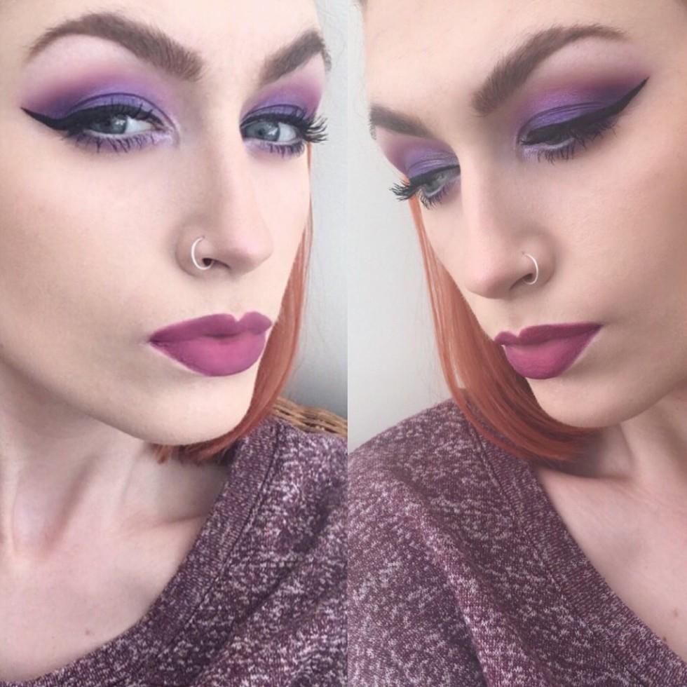 Morphe Plum Eyeshadow Palette