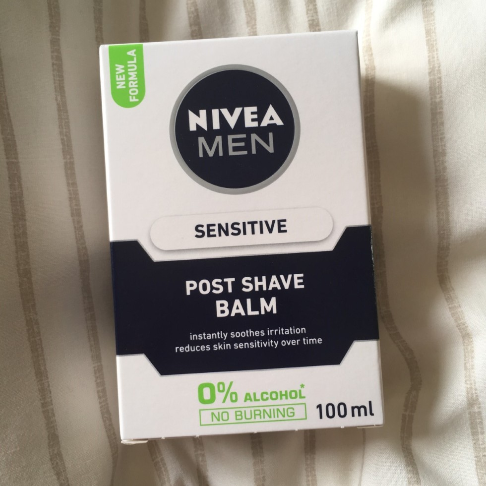 nivea sensitive post shave balm
