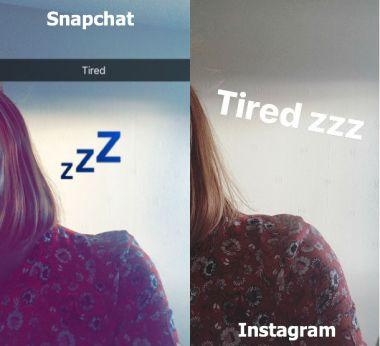Snapchat v Instagram Stories