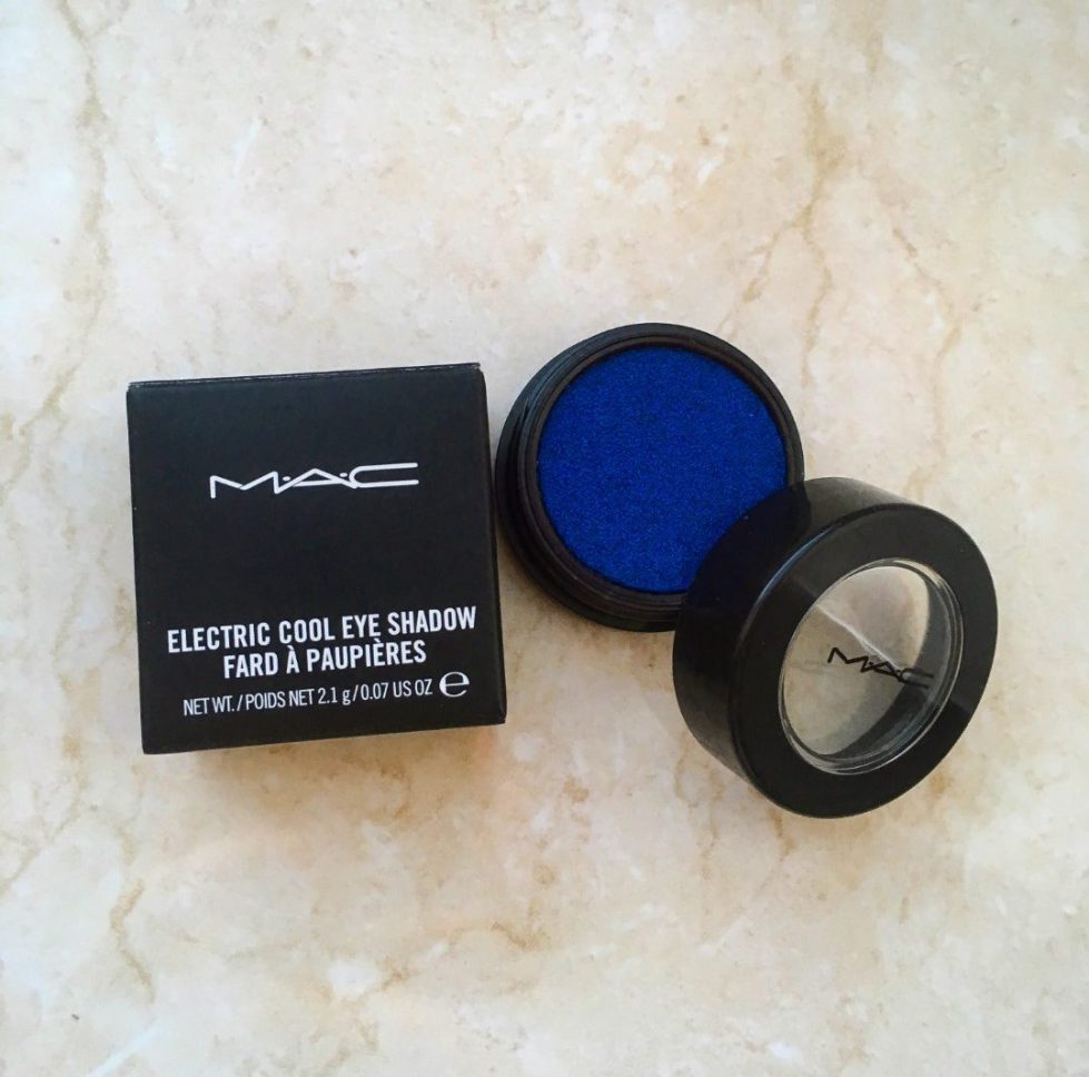 Mac Electric Cool Switch to Blue Eyeshadow
