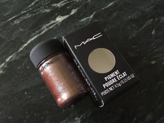 Mac Blue Brown Pigment