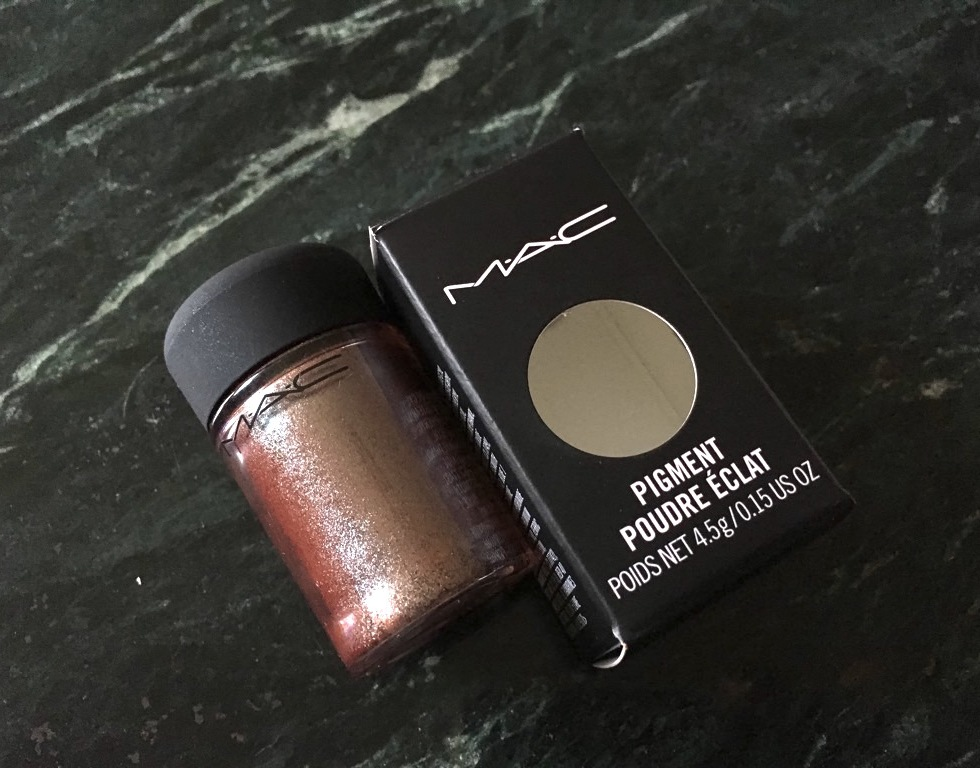 Mac Blue Brown Pigment