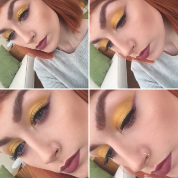 Makeup Geek Lemon Drop eyeshadow