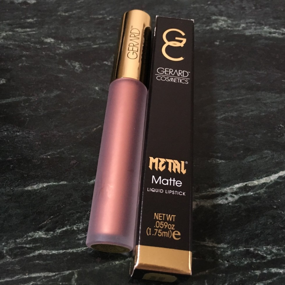 Gerard Cosmetics Dreamweaver Hydra Matte Metallic Lipstick