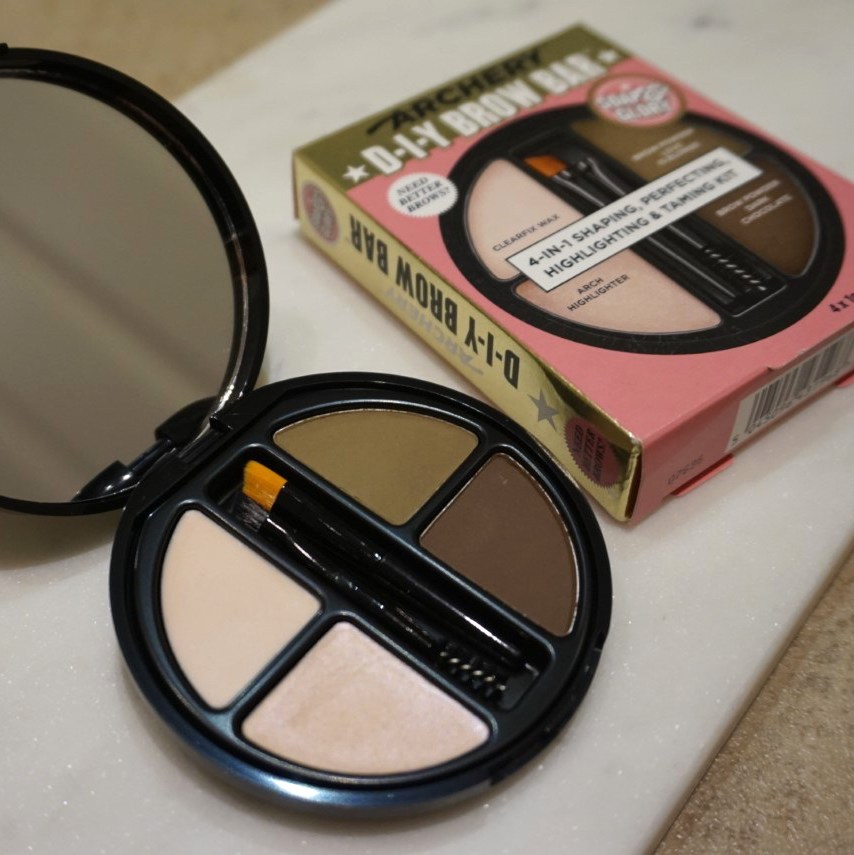 soap and glory diy brow kit