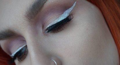 NYX White Eyeliner