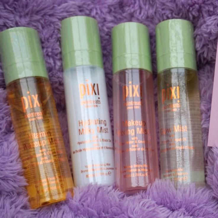 Pixi Beauty Multi Misting Sprays review