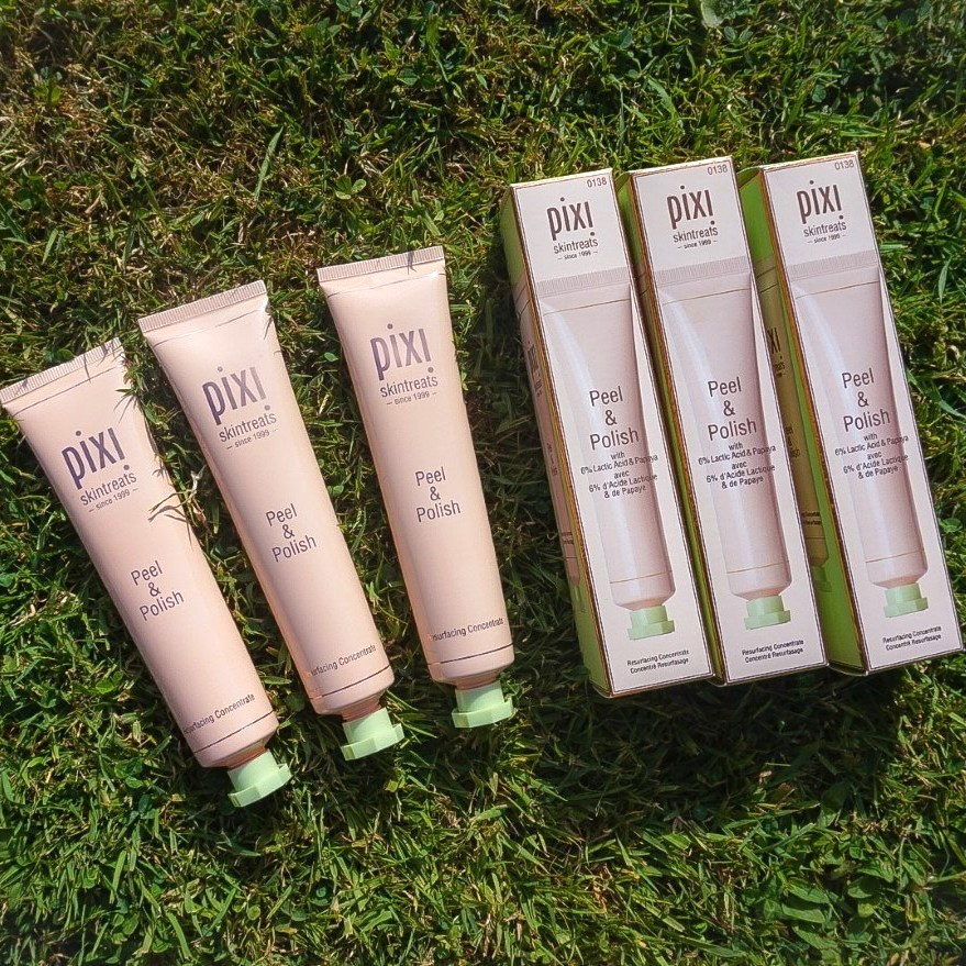 Pixi Beauty Peel and Polish review