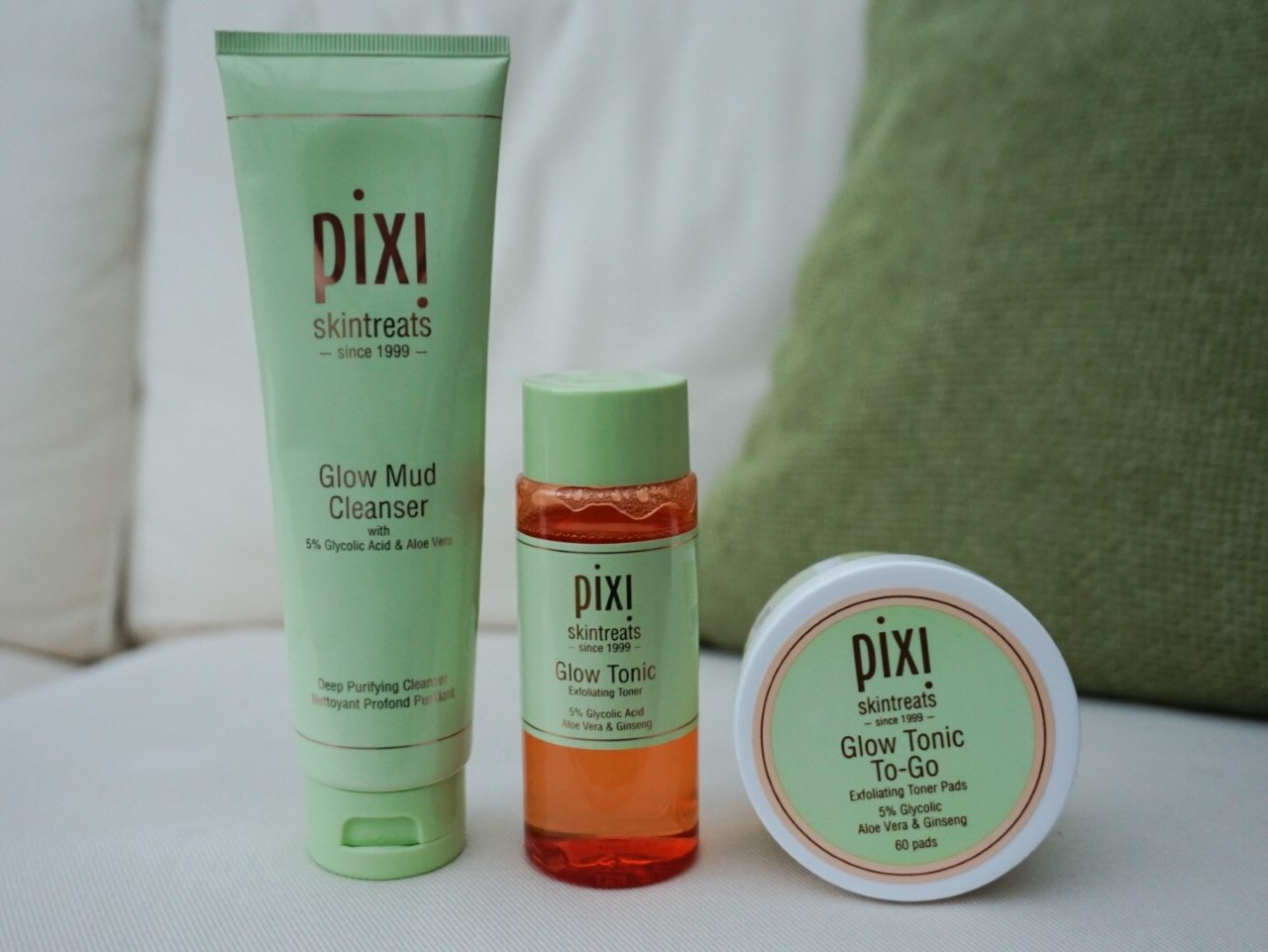 Pixi Beauty Glow Mud Cleanser and Glow Tonic