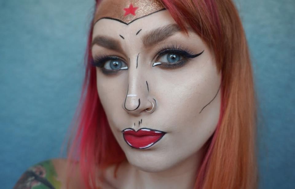 Wonder Woman Makeup Tutorial