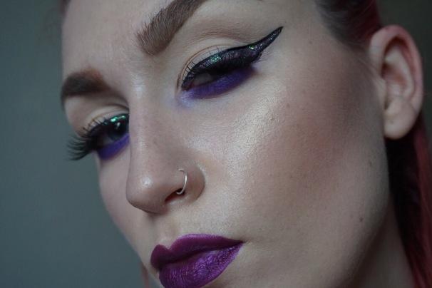 Lime Crime Metallic Matte Lipstick Posh