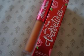 Lime Crime Squash Matte Lipstick