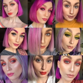 Collage of looks