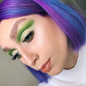 Green cut crease | Dibble's Corner